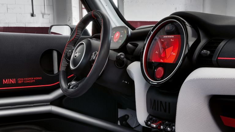 MINI John Cooper Works GP Concept – kokpit