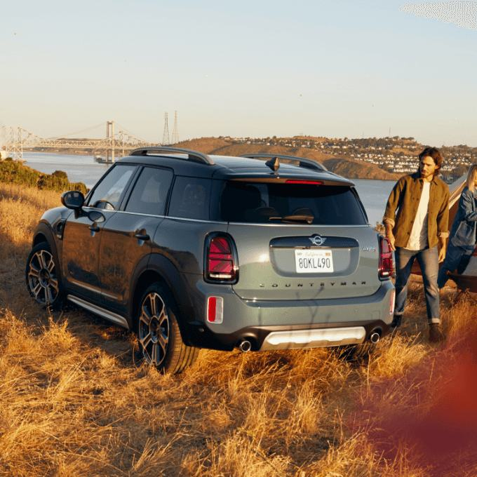 Nowe MINI COUNTRYMAN – MINI COOPER SE COUNTRYMAN ALL4 – widok z przodu