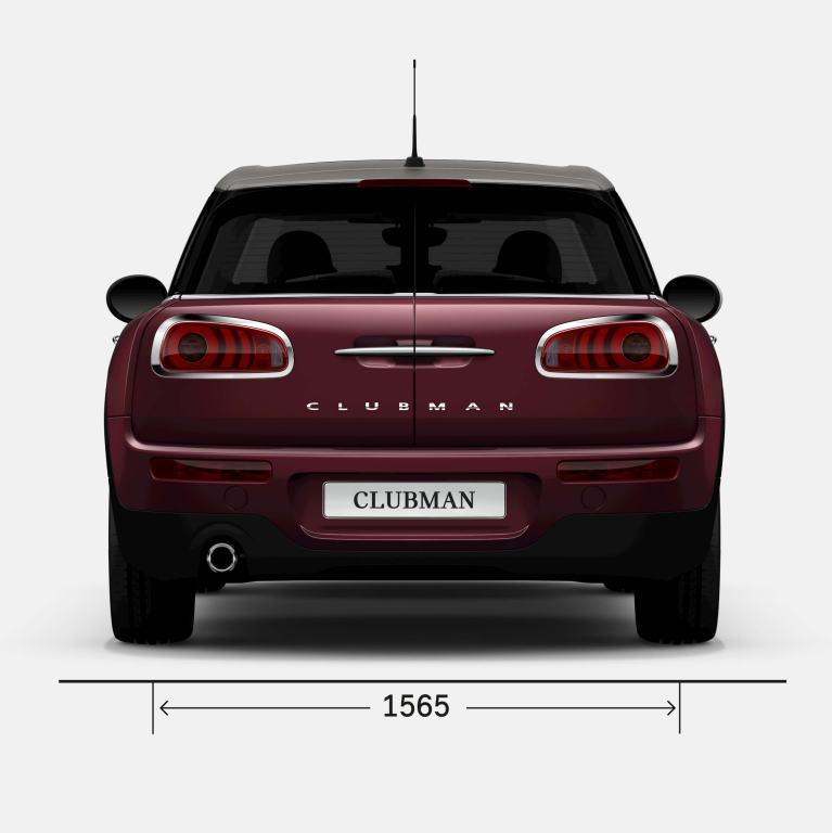 MINI CLUBMAN – TYŁ